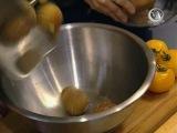 Шеф-кухар на дому - Випуск 19 - Печена картопля зі сметаною і цибулею, Спагеті з крабами під білим вином з петрушкою і смаженими помідорами, Яблучний щербет